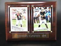 Derek Carr Oakland Raiders Holz Wandbild 20 cm,Plaque NFL Football !!