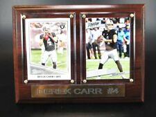 Derek Carr Oakland Raiders Wood Wall Picture 7 7/8in,Plaque Nfl Football