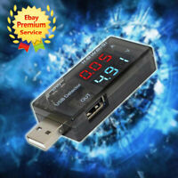 USB Charger Doctor Current Voltage Detector Battery Ammeter Testers