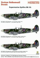 NEW 1:24 Techmod Decals 24002 Supermarine Spitfire Mk.Vb