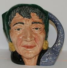LARGE ROYAL DOULTON CHARACTER TOBY JUG THE FORTUNE TELLER D6497 ** PERFECT **