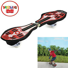 Dazzling Toys Ripstick Caster Boards High Quality Zooming Caster Skateboard Red