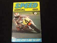 SPEED ANNUAL 1981 HARDBACK IN GOOD CONDITION BARRY SHEENE EDDIE KID