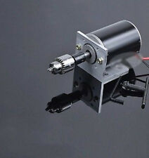 Motor + Holder DIY accessories Mini Lathe bench drill cutting machine wood work