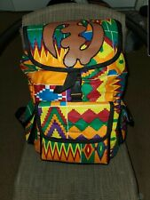 African Handmade leather backpack