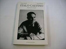 ITALO CALVINO - BIOGRAFIA PER IMMAGINI - LIBRO GRIBAUDO 1995 COME NUOVO