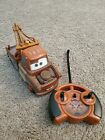 2011 Disney CARS Tow Mater Mini RC Car As Is includes remote spinmaster