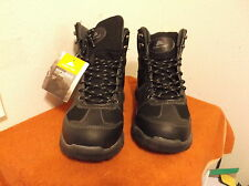 BRAND NEW MEN'S OZARK TRAIL CHOCOLATE HIKERS (BOOTS) witH LEATHER UPPERS