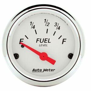 "Auto meter 2-1/16"" Fuel Level 73-10 ohm Aır-Core Ford Arctıc White 1316"