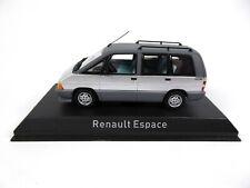 Renault Espace 1984 Titane Silver - 1/43 Norev Voiture Miniature Diecast 518013