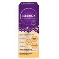 Benenox Overnight Recharge Lemon & Ginger - 135ml 1 2 3 6 12 Packs
