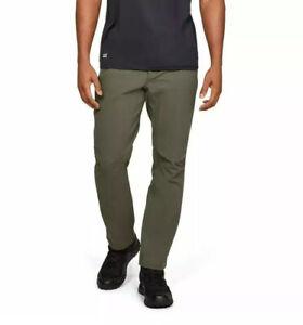 Under Armour Tactical Guardian Pants Marine OD Green 1316929-390 Men's Sz 36X34.