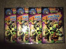 Teenage Mutant Ninja Turtles Play Pack Lot of 4 Grab & Go Coloring Books Crayons