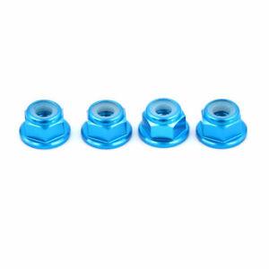 Rc Car Aluminium Wheel Nuts For Tamiya tt01e tt01 tt02 m03 m05 cc01 cw01