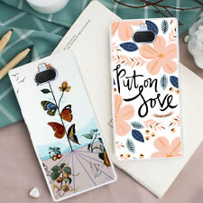 For Sony Xperia 10 Plus XZ3 XZ2 Slim Silicone Painted Soft Clear TPU Case Cover