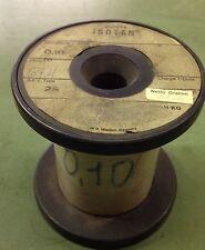 FILO Litz in Costantana rivestito in seta da 0,10mm - Lotto da 3 metri