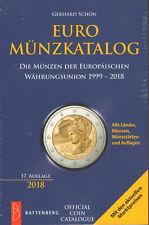 6052: EURO - Münzkatalog von Gerhard Schön, 17. Auflage 2018