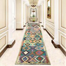 12461 Afghan Kilim, Runner Rug, Turkish Kilim, Handmade Hallway Runner 3x13