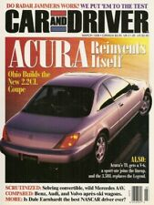 CAR & DRIVER 1996 MAR - STEEDA MUSTANG,ACURA,EARNHARDT