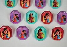 12 Disney Elena of Avalor Cup Cake Rings Topper Kid Party Goody Bag Favor Supply