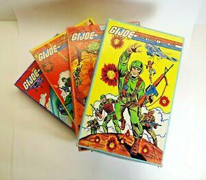 1982 Complete GI Joe Jigsaw Puzzles Set of 4 # 1610 1-4 Complete Hasbro APC