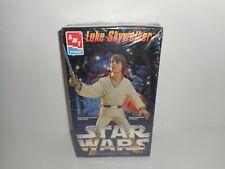 VTG 1995 Star Wars Luke Skywalker AMT Ertyl Vinyl Model Collectors Edition NIB