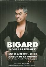 FLYER PLV - JEAN MARIE BIGARD SPECTACLE LIVE A CLERMONT FERRAND ( FRANCE ) 2017