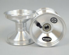 Jet Wheel Front Silver 115mm Central x 1 UK KART STORE