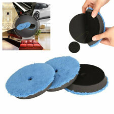 "3x 6"" Fast Finishing Pad Polishing Buffing Pads Car Polisher Tools Accessories"
