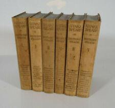 Shakespeare in deutscher Sprache, 6 Bände, 1920 Georg Bondi Verlag Berlin