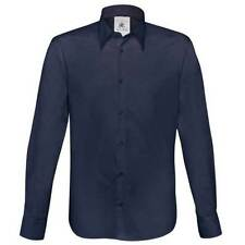 Cotton Long Formal Shirts 42 in. Chest for Men