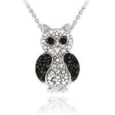 Black Diamond Accent Critters Necklace - 13 Styles