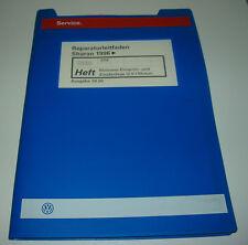 Werkstatthandbuch VW Sharan I Motronic Einspritzanlage Zündanlage 2,0 Motor ATM