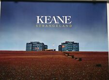 KEANE Strangeland PROMO Official Interscope Double Side Poster 18x24 2012