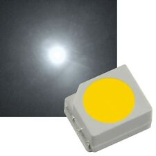 10 weiße SMD LEDs PLCC-2 3528 / mini Led Smds Tacho Lok white blanch bianco weiß