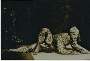 Vaslav NIJINSKY Great Russian Genius BALLET DANCER 1910 Reprint NEW Photo