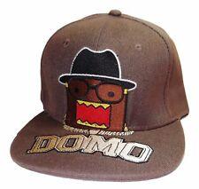 Anime Domo Character Logo Adjustable Snapback Cap/Hat
