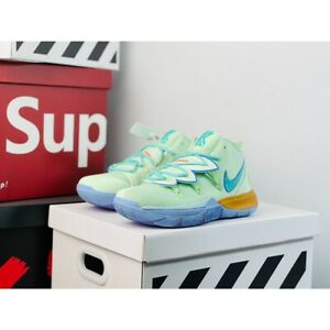 Kyrie 5 SpongeBob Squidward Shoes Men Sports Sneakers