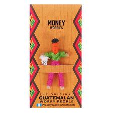 Money Worry Doll Guatemala Mayan Handmade Ideal Gift