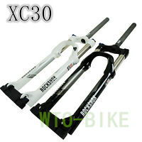 "ROCK SHOX XC 30 26"" Bike Disc Suspension oil Fork 100mm 1-1/8"" mtb Manual Lock 1"