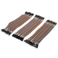 120pcs Dupont Wire Female to Female + Male to Male + Male to Female Jumper Cable