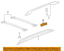 GM OEM Roof Rack Rail Luggage Carrier-Rear Cover Right 20983990