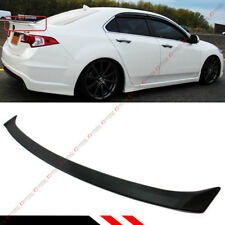 FOR 09-14 ACURA TSX ABS PRIMERED CU1 CU2 ACCORD JDM REAR TRUNK DECK LID SPOILER