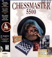 Chessmaster 5500, [PC, CDROM, 1997], Rare | VGC