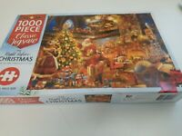 """Hinkler """"The Night Before Christmas"""" 1000 Piece Jigsaw Puzzle Complete"""
