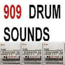 Roland 909 DRUM Sounds Kit tr-909 Drum Maschine Samples Linn Vintage Electronica