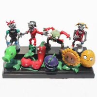 10pcs Plants vs. Zombies Action Figures Toy Decor Cake Topper Kids Gift Style