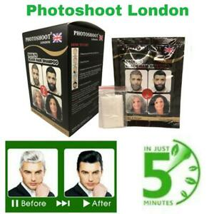 PHOTOSHOOT BACK TO BLACK INSTANT HAIR SHAMPOO (PACK OF 2 SATCHETS )