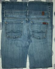 7 For All Mankind Boy Cut Women's Jeans Size 27 Low Rise