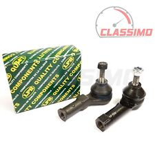 Track Tie Rod End Pair for RENAULT CLIO Mk 2 & 3 - 2000 to 2013